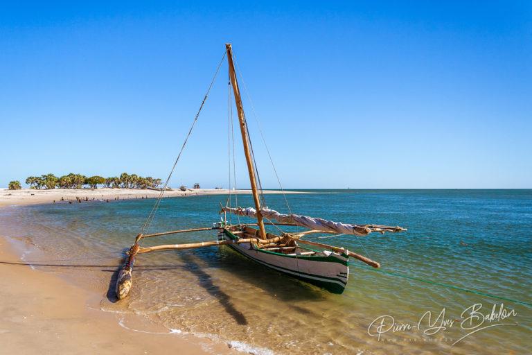 Malagasy outrigger canoe