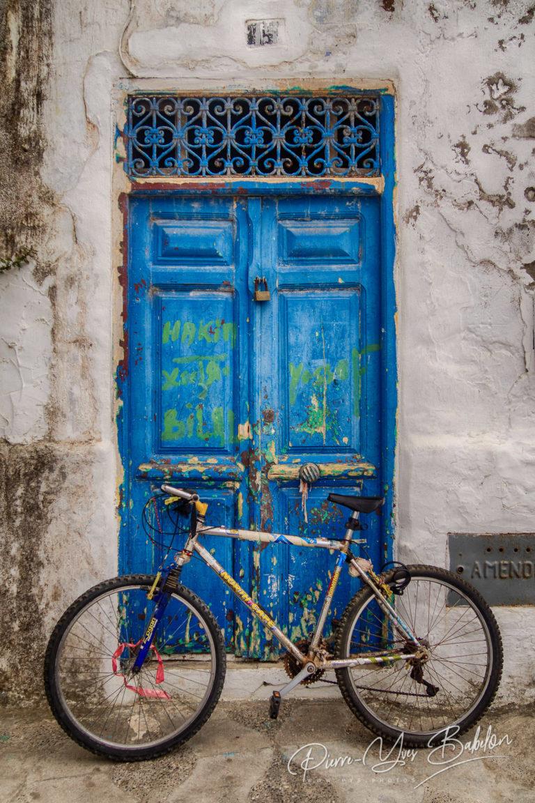 Bike front of the door