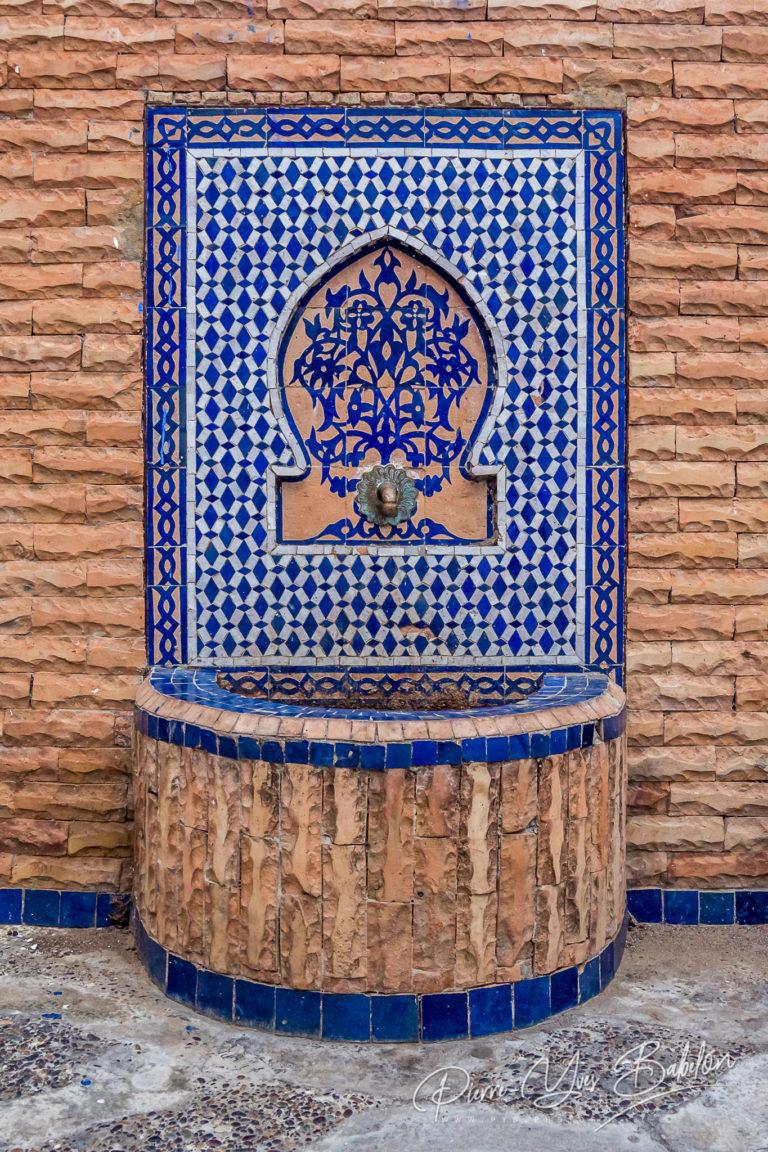 Beautiful moroccan fountain