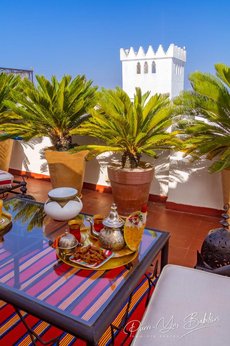 Tea time in Tangiers