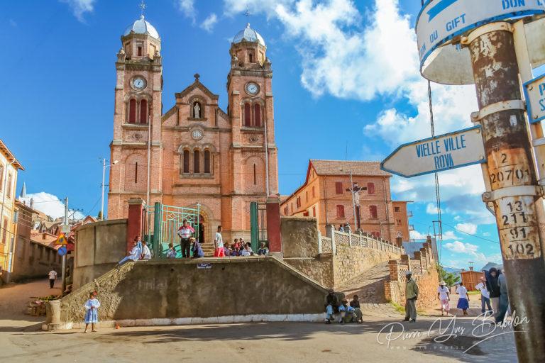 The cathedral of Fianarantsoa
