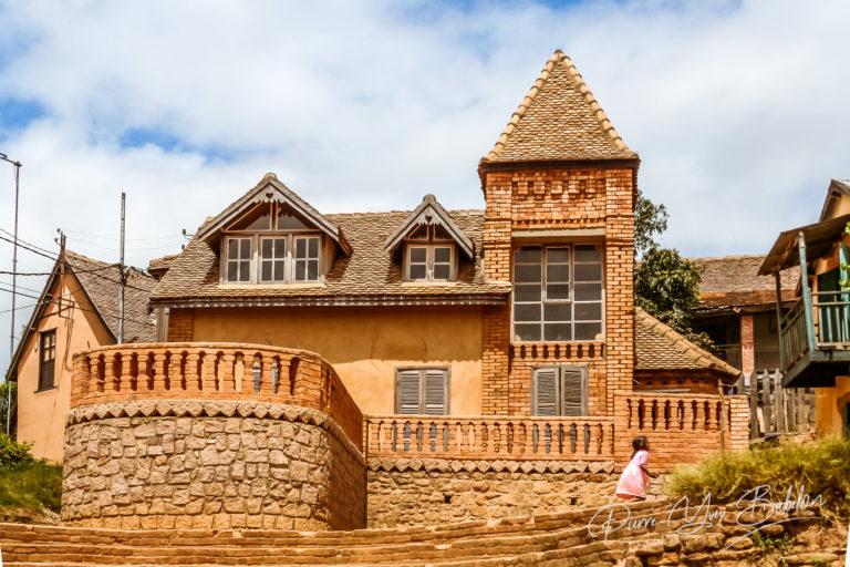 Typical architecture of Fianarantsoa