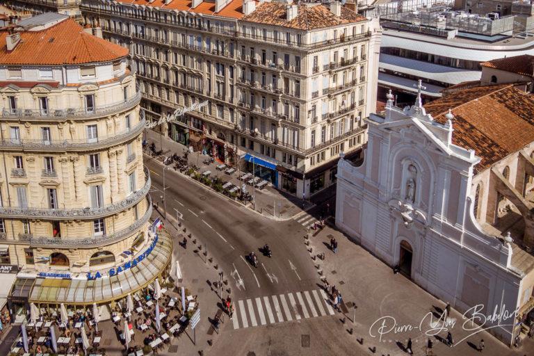 The rue de la République in Marseille
