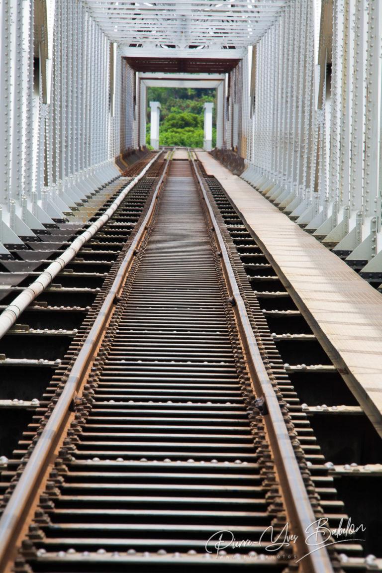Steel bridge for Train