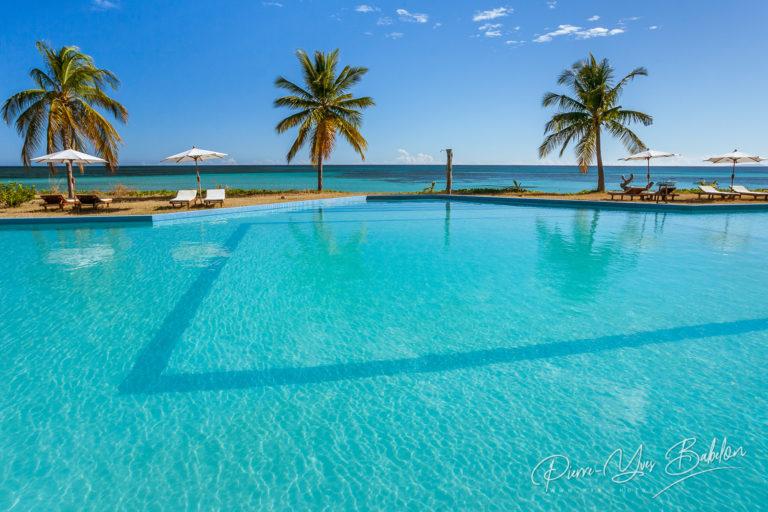 Tropical swimming pool