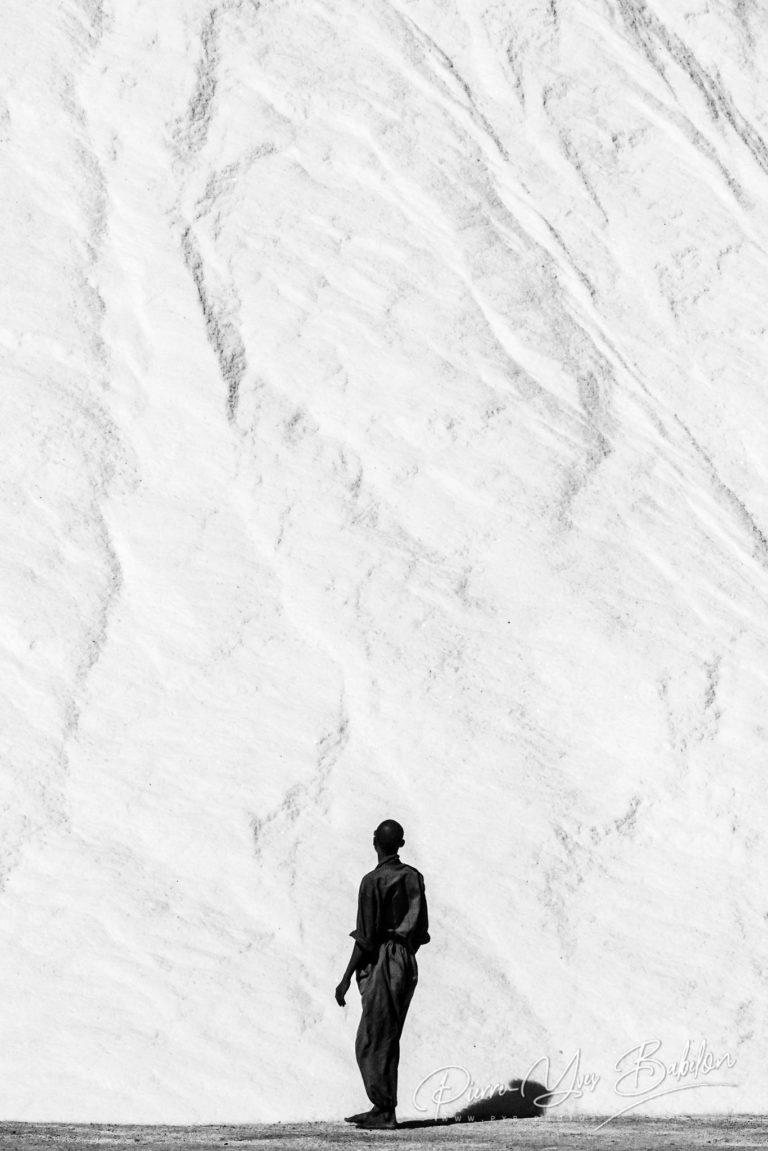 Mur de sel de la saline de Diego Suarez, Madagascar