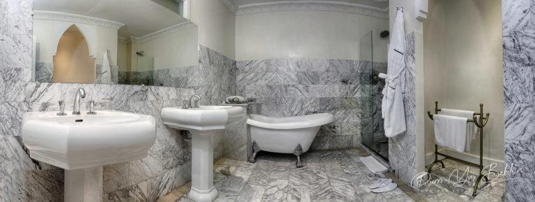 Bathroom of suite