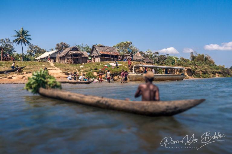 Tribal village in Madagascar