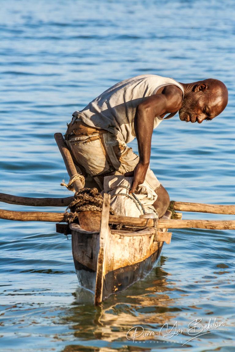 Malagasy fisherman of Vezo ethnicity group